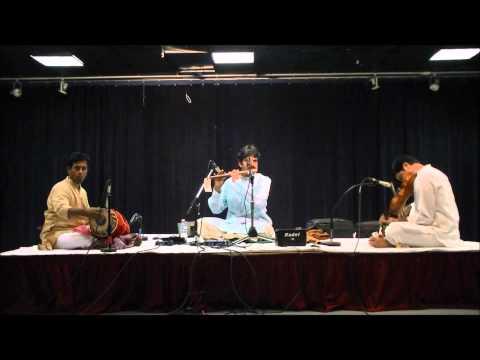 IAACM Presents: Flute Raman's Romantic Ragas Spring tour 2013 - Bhairavi Varnam - CL41