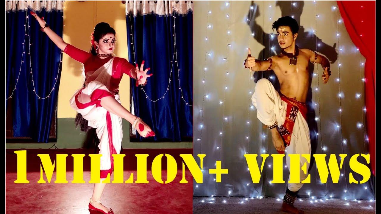 Aigiri Nandini    Dance Cover   Payel   Dwaipayan