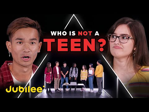 6 Teenagers vs 1 Fake Teenager | Odd Man Out
