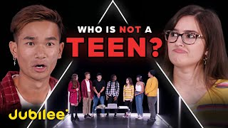 6 Teenagers vs 1 Fake Teenager