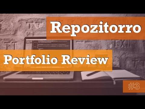 Repozitorro #3 - Обзор портфолио Верстальщика / HTML-coder Portfolio Review