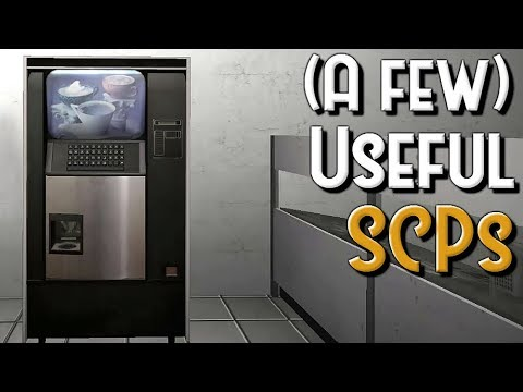 A Few Useful Scps Scp Containment Breach V1 3 8