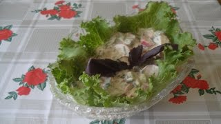 Салат из редиски!