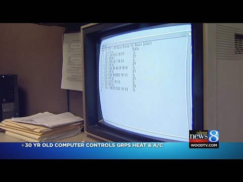 A 1980's Commodore PC, running 24/7 for the last 30 years, has been controlling the heat and a/c for the entire Grand Rapids, Michigan school district