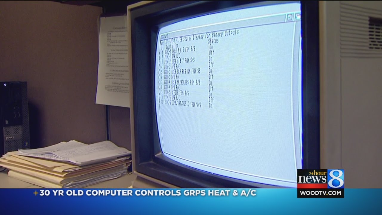 1980s Computer Controls Grps Heat And Ac Youtube