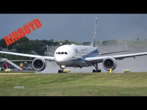 ANA Boeing 787 Flight Demonstration - Farnborough Airshow 2016 (Wednesday)