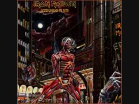 iron maiden-wasted years with lyrics
