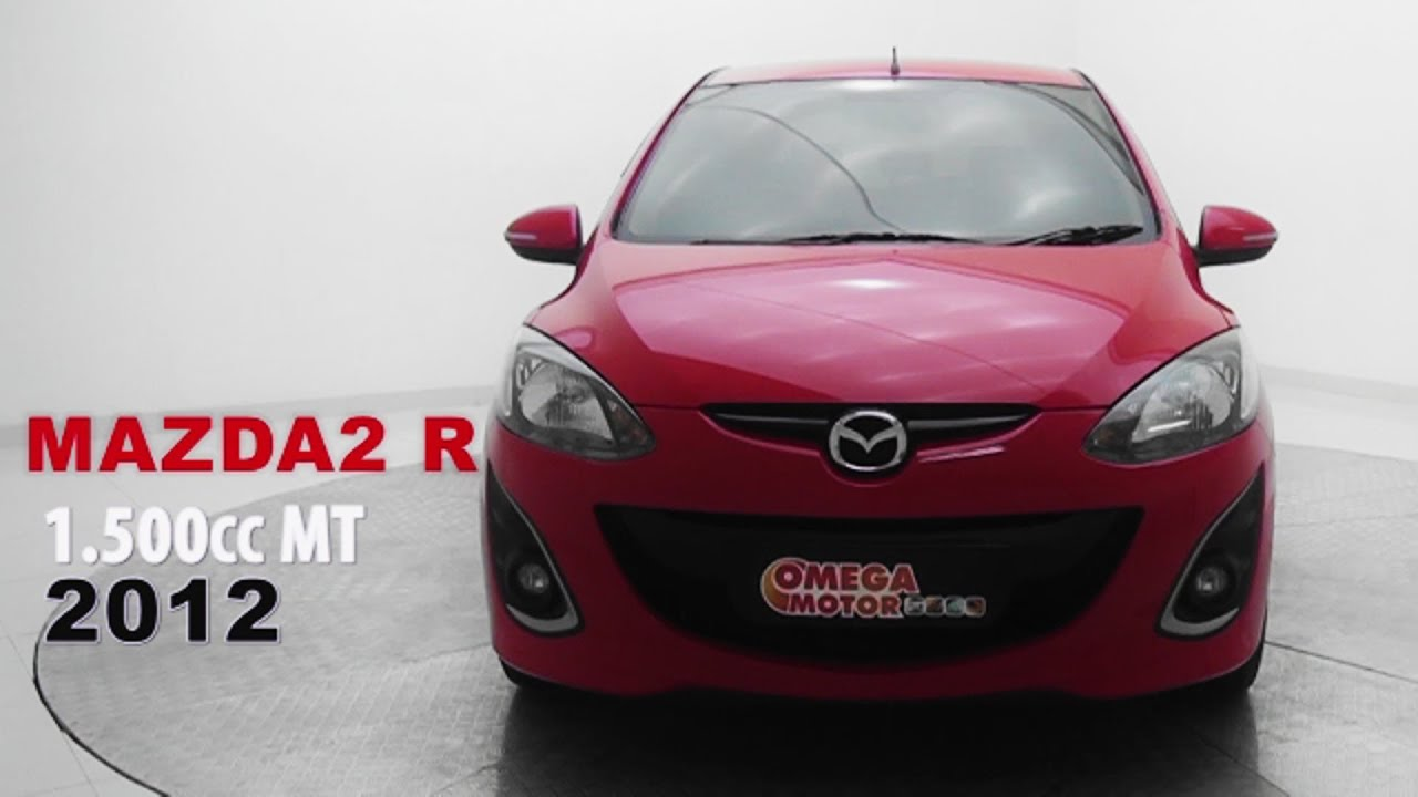 mobil bekas mazda 2 r 1 5 v mt merah tahun 2012 youtube. Black Bedroom Furniture Sets. Home Design Ideas
