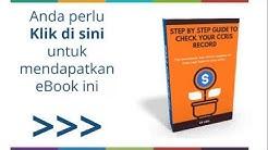 ✅ Semakan CCRIS Online Malaysia (❌ tak yah susah-susah gi BNM)