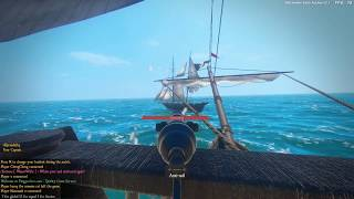 Blackwake - Team Deathmatch - Sailing Aboard A British Galleon With Captain Randall At the Helm