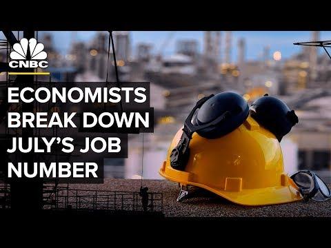 Three Economists Break Down Friday's Jobs Report | CNBC