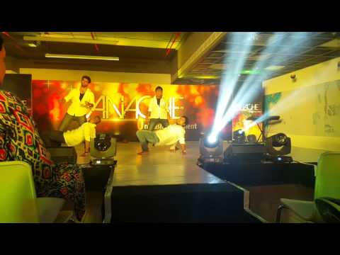 Panache-2k15 @Adobe Bangalore: Group Dance(Curtain
