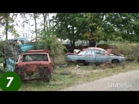 Classic Car Junk Yards >> Stark Wrecking, Vintage Salvage Yard - YouTube