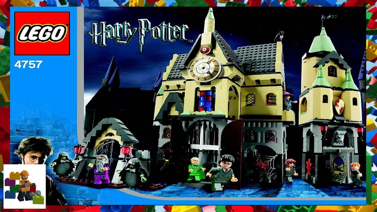Lego Instructions Harry Potter 4757 Hogwarts Castle Youtube