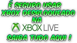 XBOX LIVE É Possivel Jogar Com XBOX 360 DESBLOQUEADO Sem Ser Banido ?, Saiba Tudo Aqui !