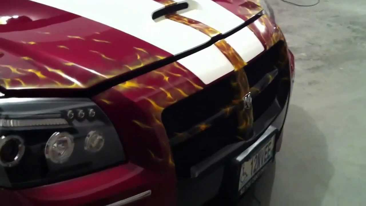Dodge Magnum Custom Paint Job Youtube