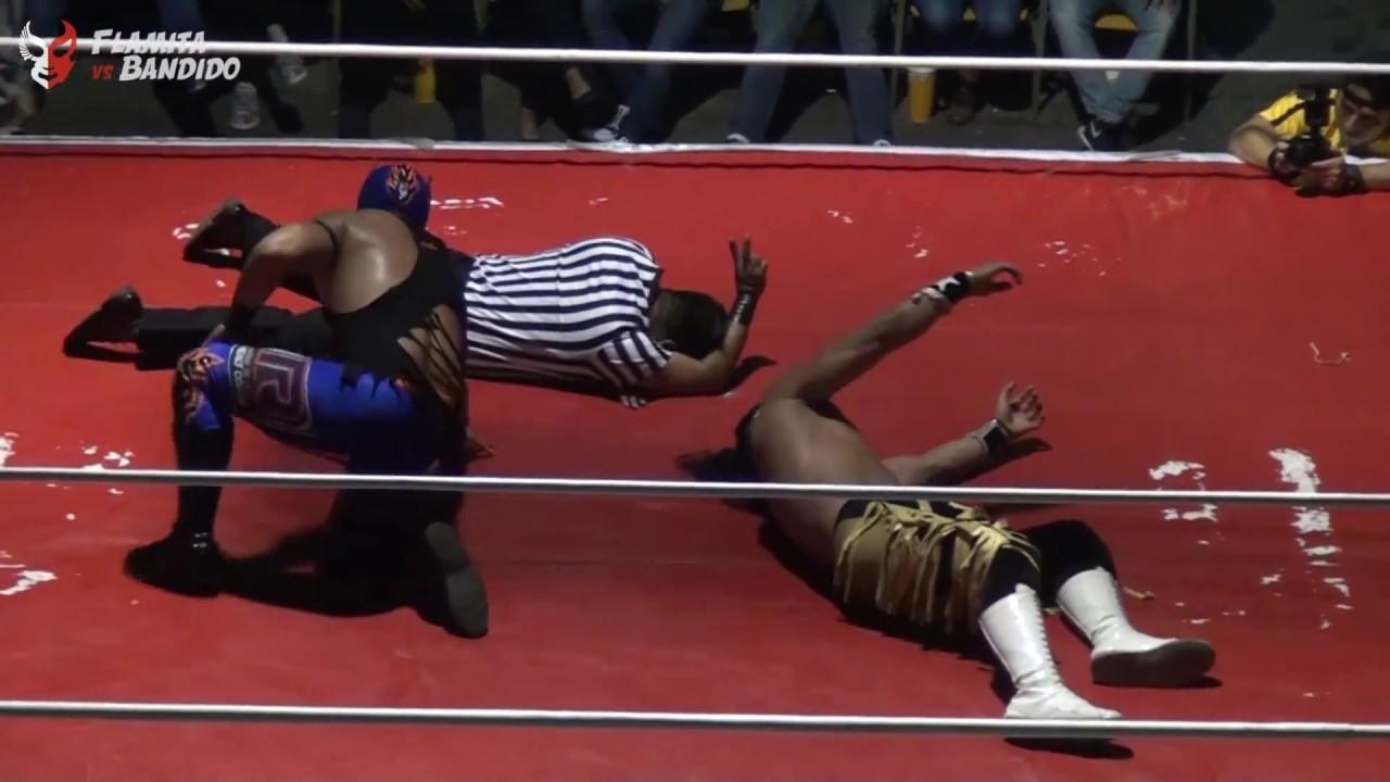 Flamita vs Bandido, en la Arena San Juan Pantitlán