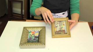 How To Design Wood Picture Frames : Picture Frame Crafts