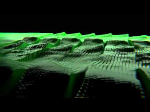 3d Music Visualization animation - Motion Graphics.  Made in Blender