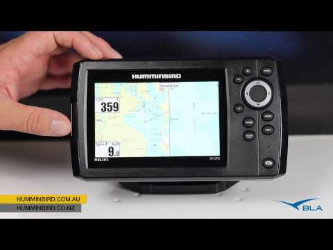 bla – humminbird – helix 5 si gps overview - youtube, Fish Finder