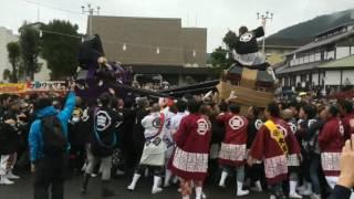 愛媛県上浮穴郡久万高原町 秋祭り 大神輿 mikoshi mikosi matsuri maturi.