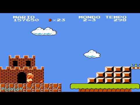 Super Mario Bros (NES) [Longplay ITA]