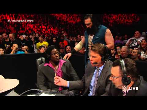 Dean Ambrose vs. Bad News Barrett: Raw, March 2, 2015
