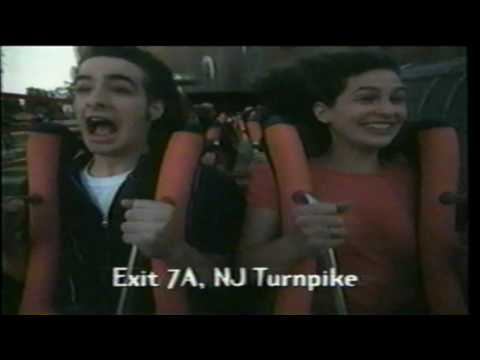 Batman & Robin: The Chiller Rollercoaster Ride Six Flags Great Adventure TV Commercial