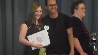 Lena Keil Siegerehrung 1. Platz @ German World of Dance 2012 Wettbewerb Social Dancing Competition