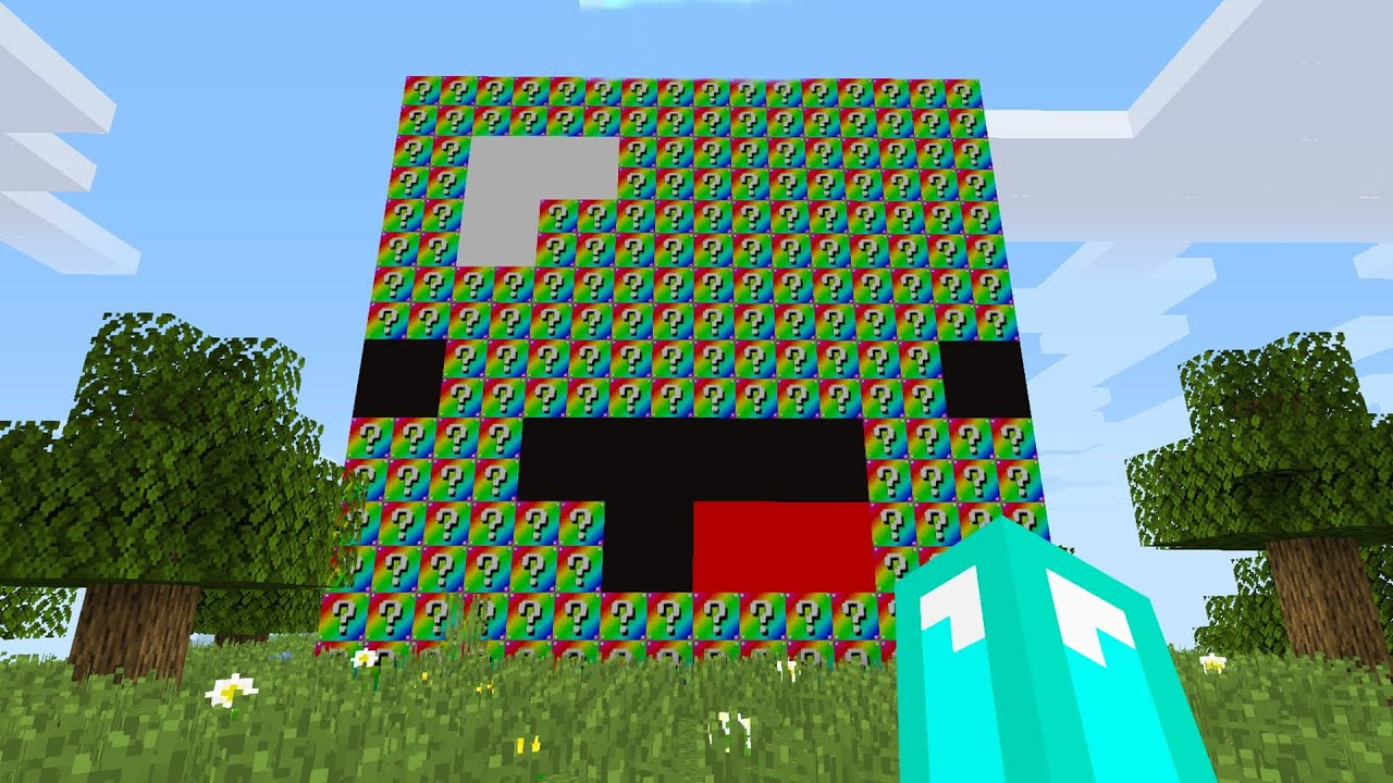 Download World's MOST Extreme RAINBOW Lucky Block House Battle