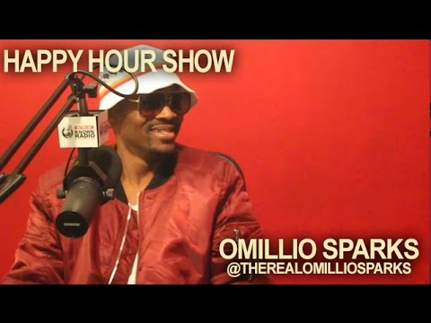Omillio Sparks on Happy Hour Show breaks dwn His album BG3, Roc Nation & Fight w/Bipolar disorder...