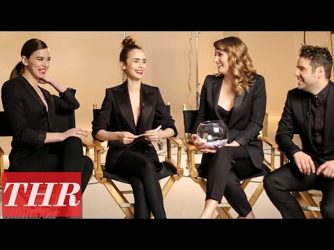 Hailee Steinfeld & Lily Collins Play 'Fishing for Answers': Humility, Gratitude, & Spontaneity | THR