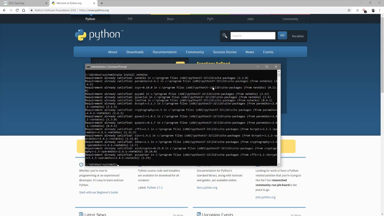 Network Automation Using Python - Part 3 Introduction to Netmiko