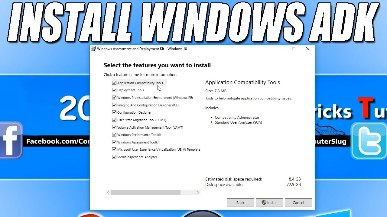 How To Install Windows ADK (Assessment & Deployment Kit) Tutorial
