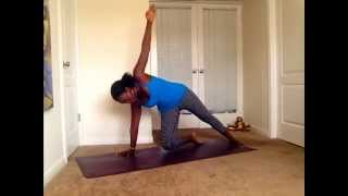 Beginner Yoga Practice for a Toned Core,Just 15 minutes with Namitzi Yoga