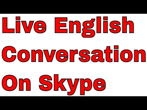 Live English Conversation On Skype With An Indian English Teacher!