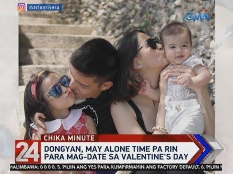 24 Oras: Valentine's Day, may new meaning daw para kina Marian Rivera... - 동영상