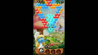 Smurfs Bubble Story! gameplay Android-iOS