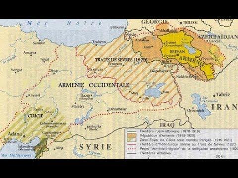 Западная Армения. Братство России и Турции. Севрский договор.