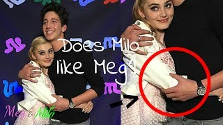does milo like meg? meg donnelly milo manheim meg milo