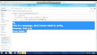 Hotmail - How to send an email