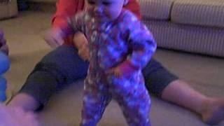 Audrey Marie Anderson walking!!