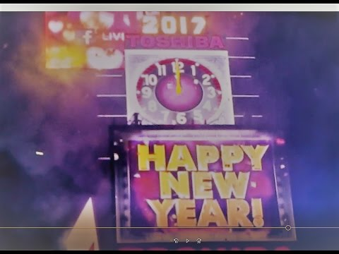 New Year's Eve 2017 Around the World and Times Square New York City