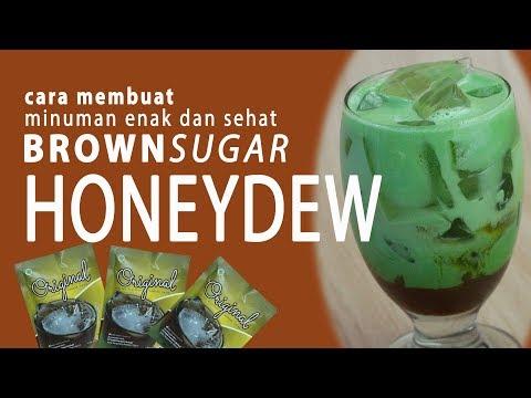 cara-membuat-minuman-dengan-topping-brown-sugar-:original-honeydew
