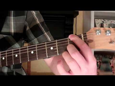 How To Play the Fmaj9 Chord On Guitar (F major ninth) 9th