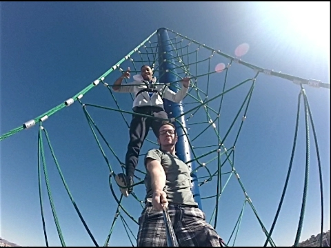 Playing On A 6-STORY ROPE TOWER - Mesa-RiverView Park
