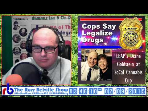 The Russ Belville Show #538 Interview - Diane Goldstein at HIGH TIMES Cannabis Cup SoCal 2015