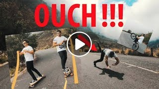 Skateboarding behind a Mini Cooper ⎮Epic Fail