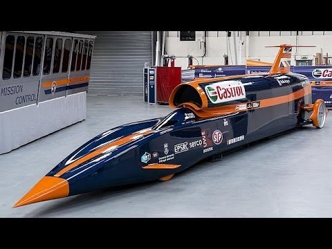 bloodhound ssc 1600 km h la voiture fus e focus youtube. Black Bedroom Furniture Sets. Home Design Ideas