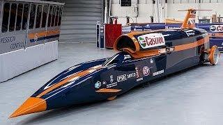 Bloodhound SSC : 1600 km/h, la voiture fusée - focus